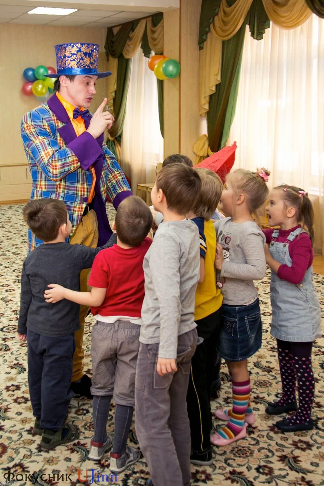 Фокусник Юджинн в детском саду 11