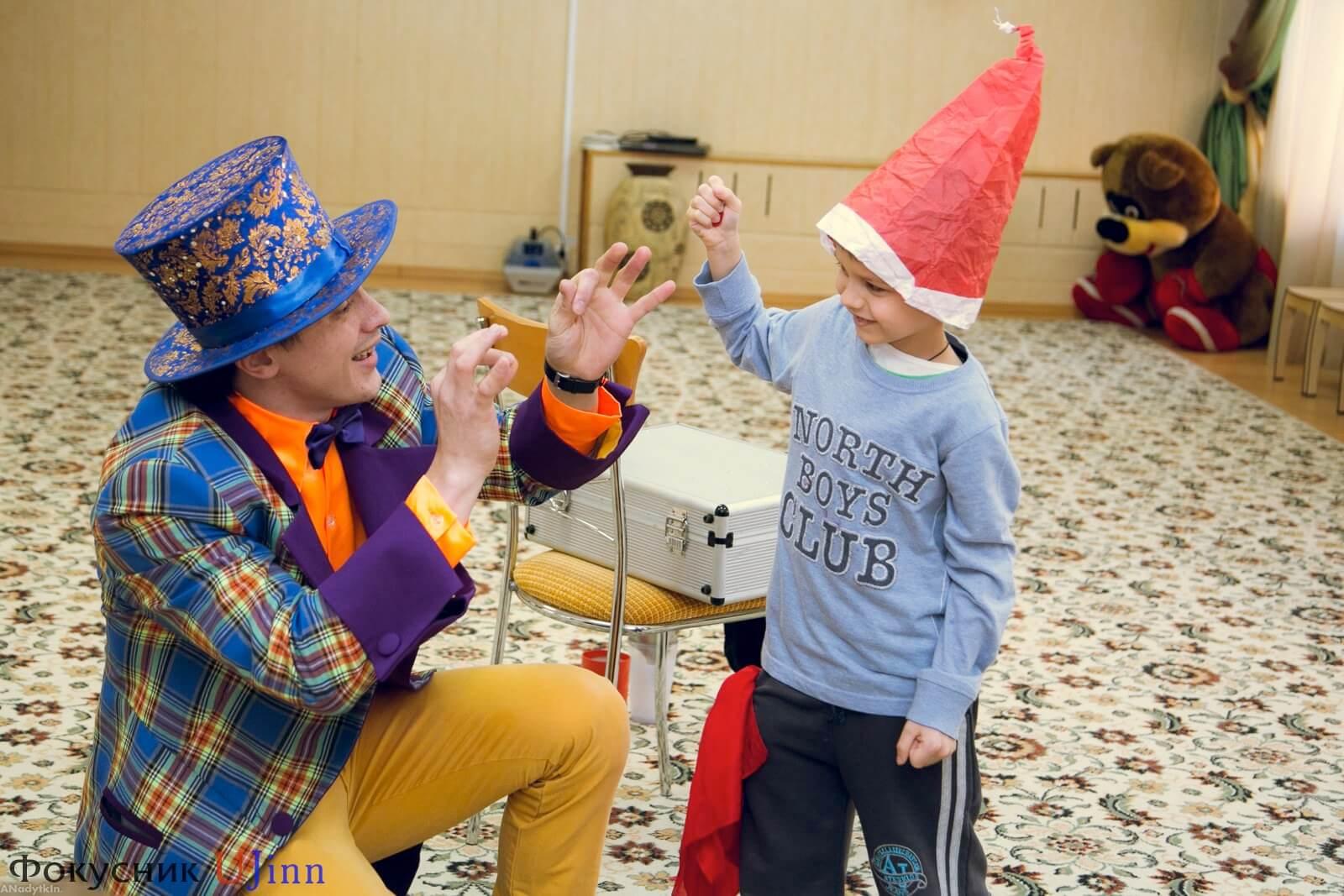 Фокусник Юджинн в детском саду 12